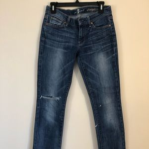 7 for All Mankind Well Loved Jeans
